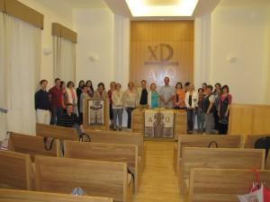 Kihelyezett tanári bibliaóra
